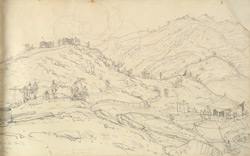 Black Hill. P. Battery. 1815.